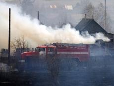 В Горномарийском районе сгорел дом и надворные постройки