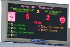 «Спартак Марий Эл» победил в седьмой раз в нынешнем сезоне