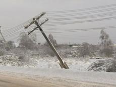 «Ледяной дождь» нарушил энергоснабжение в Горномарийском, Волжском и Звениговском районах республики