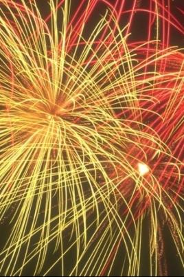 Город праздничных огней постер