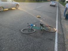 Велосипедист пенсионного возраста попал под колеса иномарки