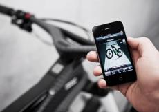Злоумышленник украл сотовый телефон, прикрепленный к велосипеду