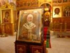 Икона святителя Николая пробудет в Марий Эл ровно месяц